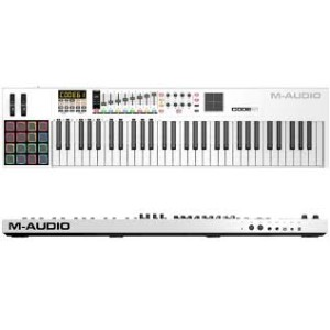 MASTERKEYBOARD M-AUDIO CODE 61 White