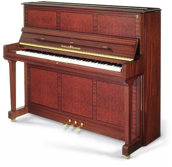 SCHULZE POLLMANN - 126 P6 - PIANOFORTE VERTICALE - Zecchini ...