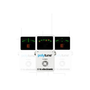 ACCORDATORE A PEDALE TC ELECTRONIC POLYTUNE 2