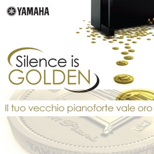 YAHAMA SILENCE IS GOLDEN