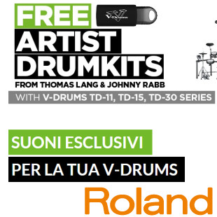 ROLAND DRUMKITS FREE SOUNDS