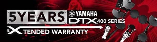 Yamaha dtx450k batteria elettronica zecchini for Yamaha extended warranty