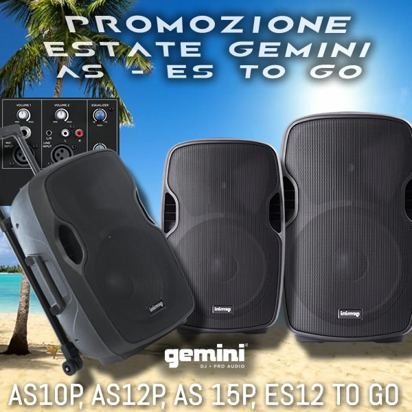 PROMOZIONE ESTATE GEMINI AS - ES TO GO