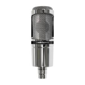MICROFONO DA STUDIO AUDIO-TECHNICA AT2020V Cromo special edition