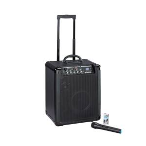 Sistema PA a batteria SOUNDSATION BLACKPORT-80BTRW