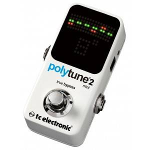 accordatore a pedale TC ELECTRONIC polytune2 mini